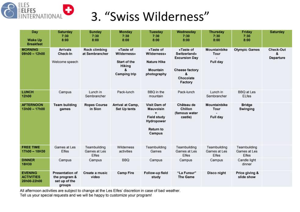Swiss Wilderness