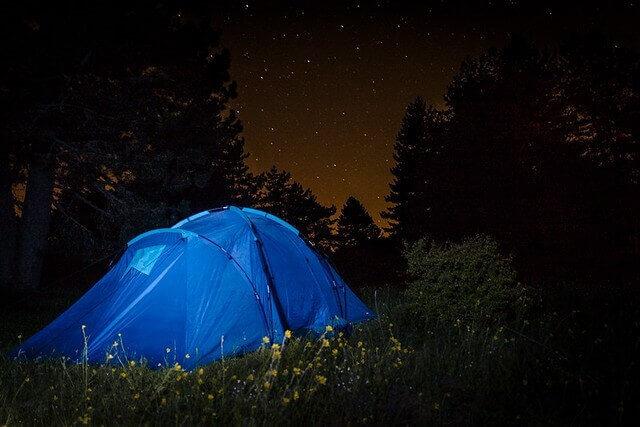 Spring Camping