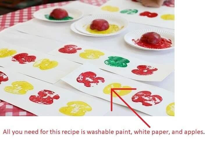 Apple Print Craft