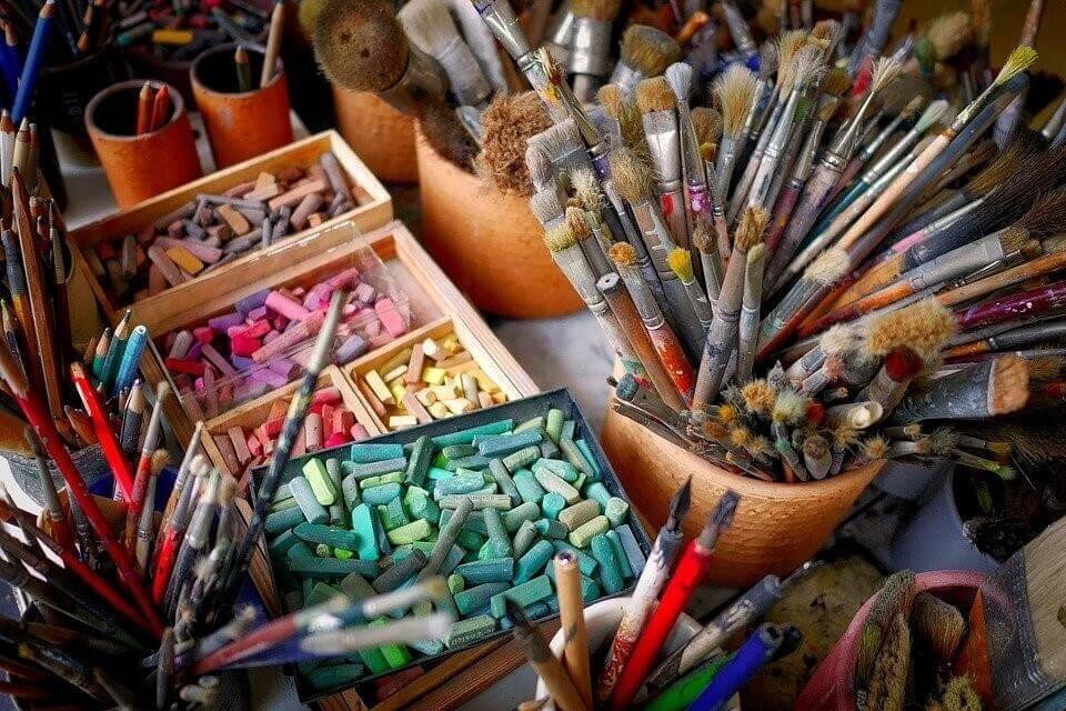 Crayon Painting