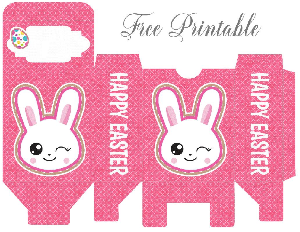 Printable Easter Bunny Box