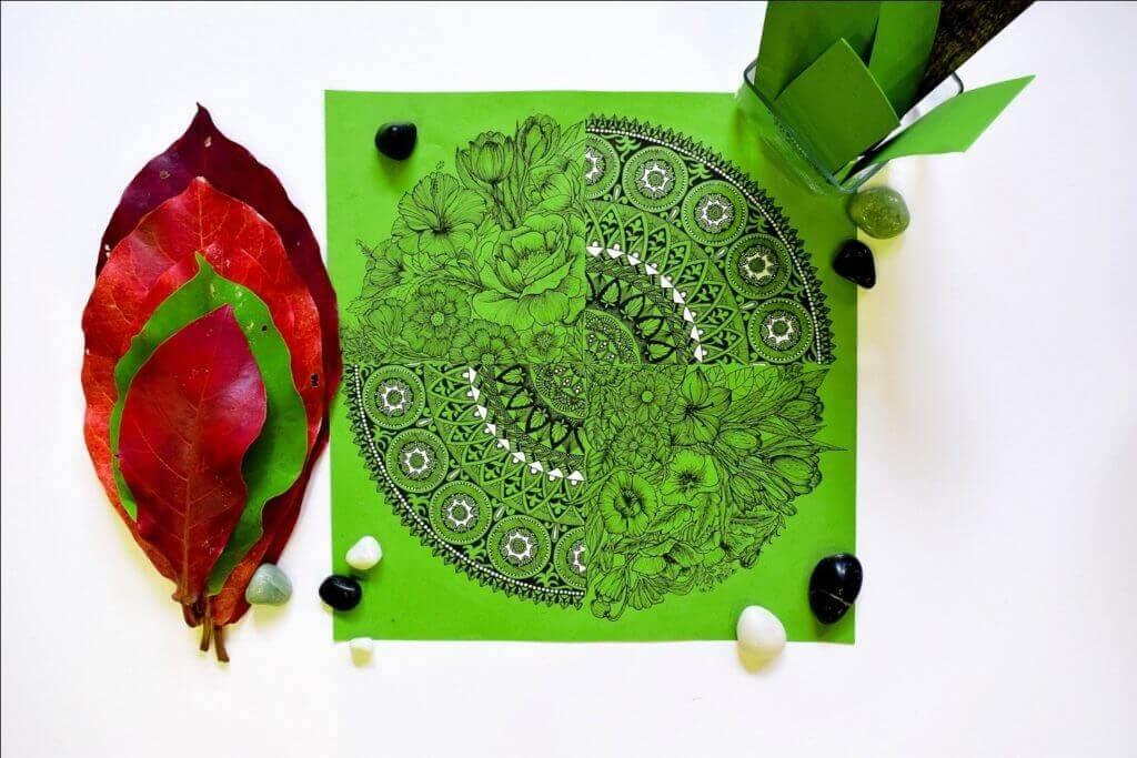 Zentangle Art Ideas For Kids
