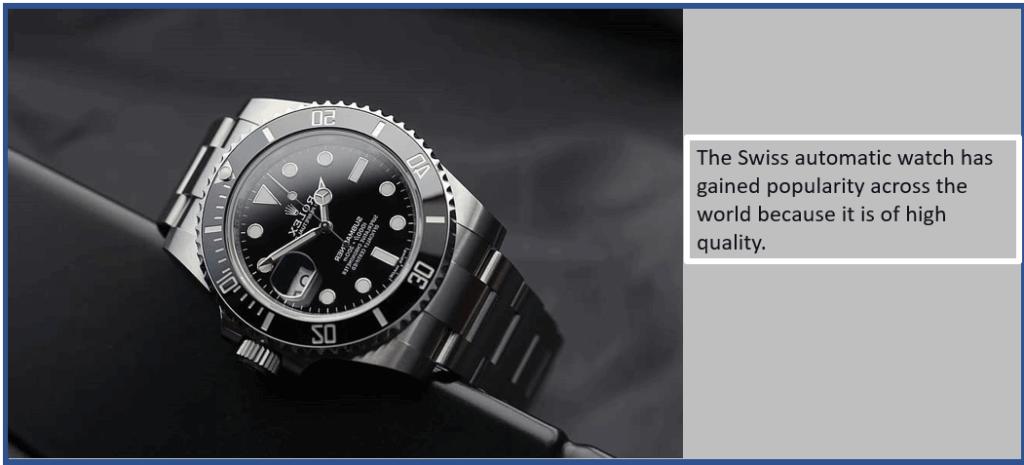 Authentic Swiss Watch