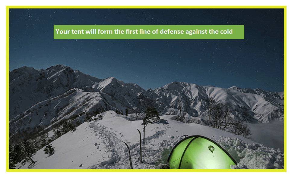 Carry the Right Gear for Winter Camping Shelter