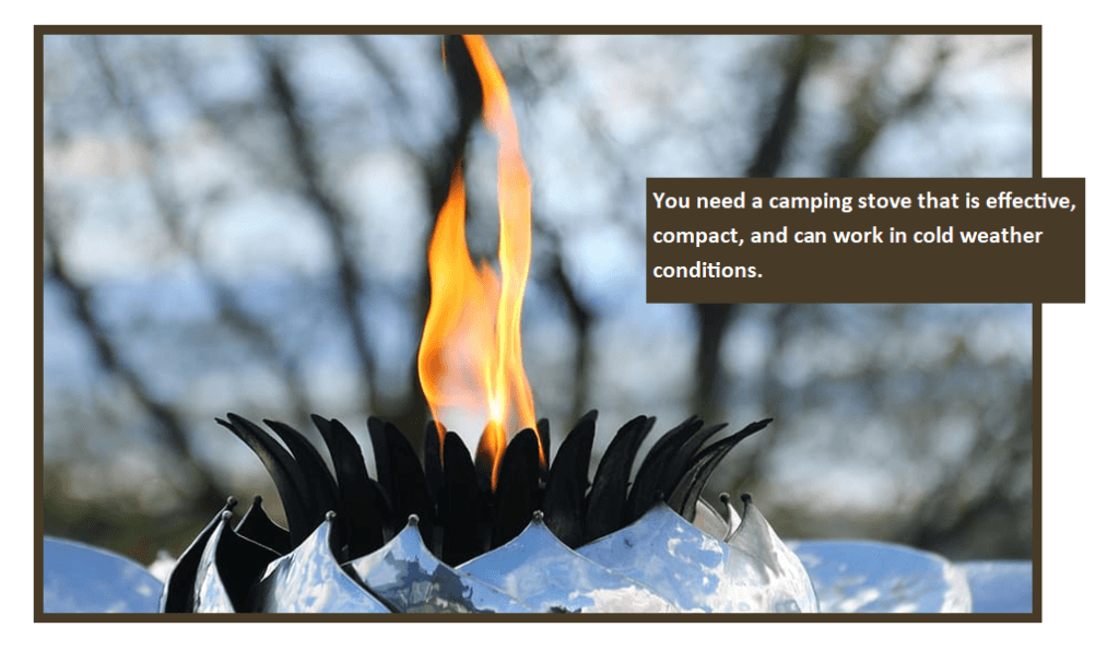 Camping Gear For Cooking And Boiling Water Stove