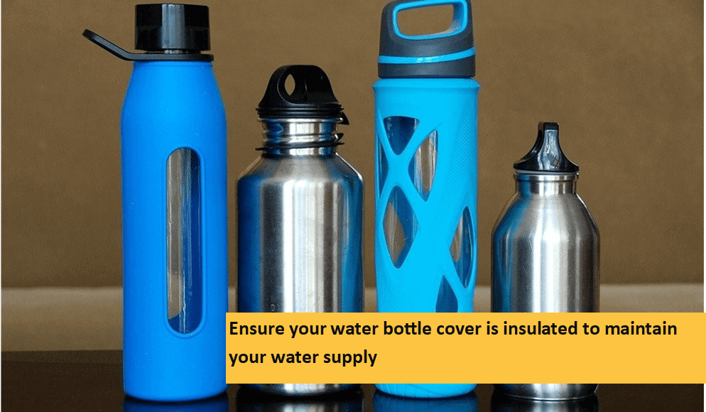 Utilize Bottles in Winter Camps