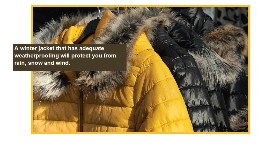 Weatherproofing Winter Jacket