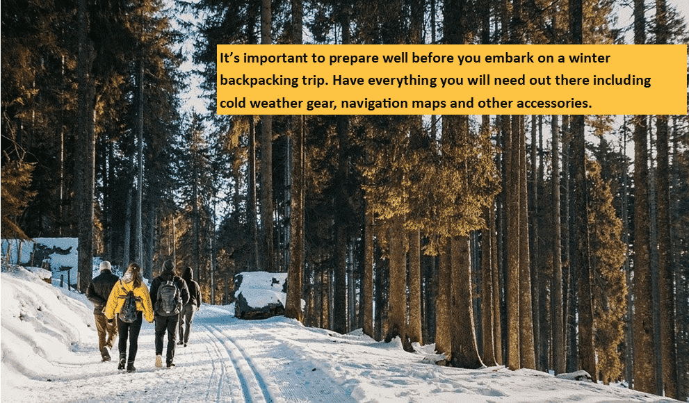 What you Should to Know Before Embarking on Your Winter Backpacking Trip