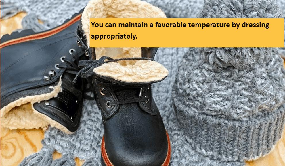 Winter Wear in Winter Camp