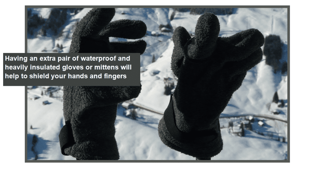 gloves for frostbite and other negative effects of cold weather