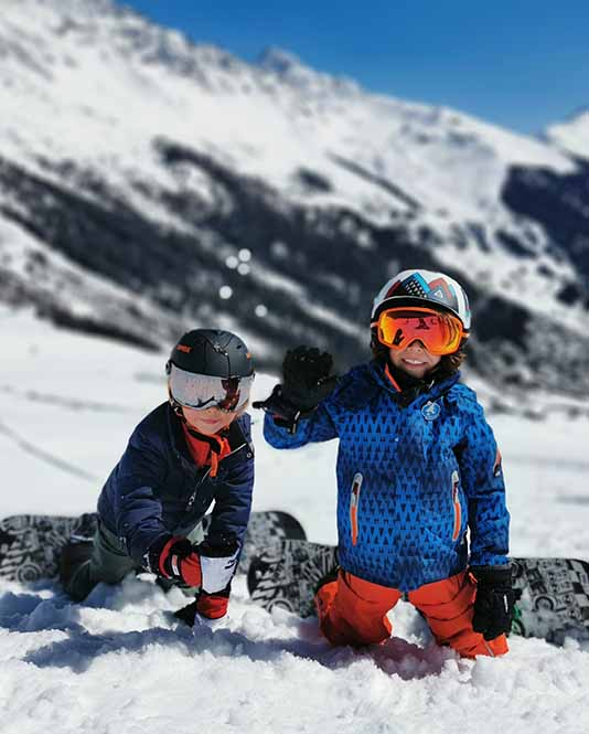 Les Elfes winter camp - Kids on Snowboard