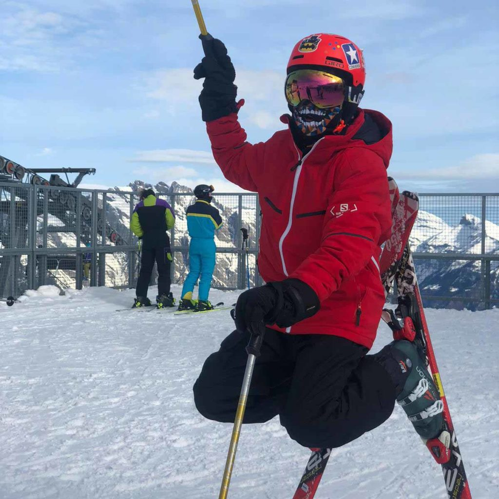 winter camp Les Elfes Int Verbier COVID-19
