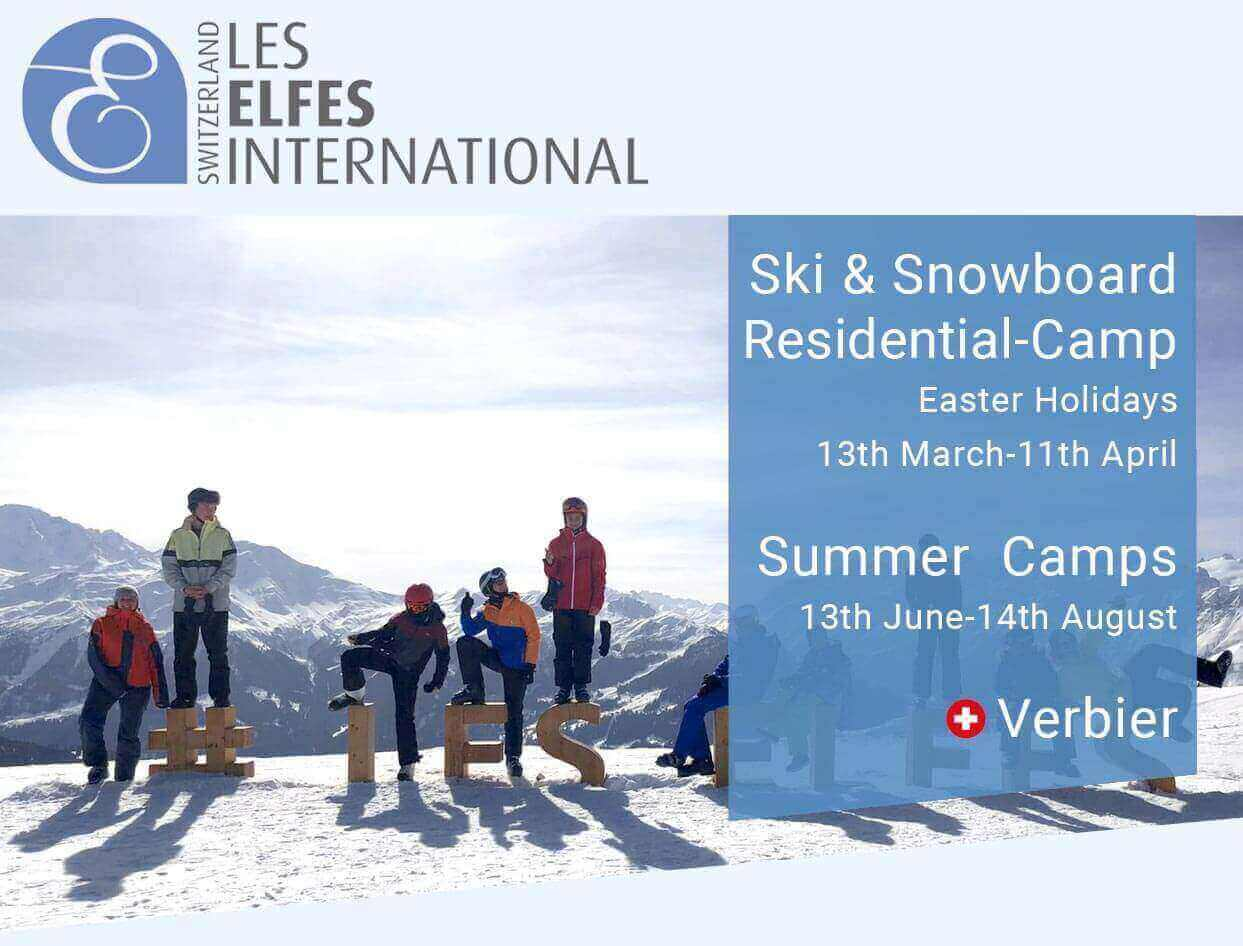 Les Elfes Winter camp will re-open in March 2021!