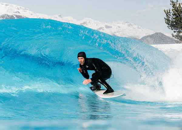 Les Elfes summer camp - Alaia Bay surfing in sion