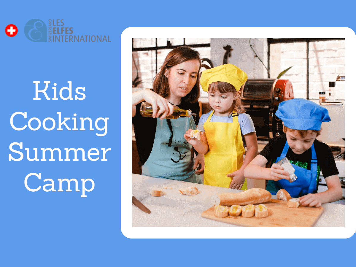 Kids Cooking Summer Camp: Healthy Practices and Skills Kids Learn from Cooking