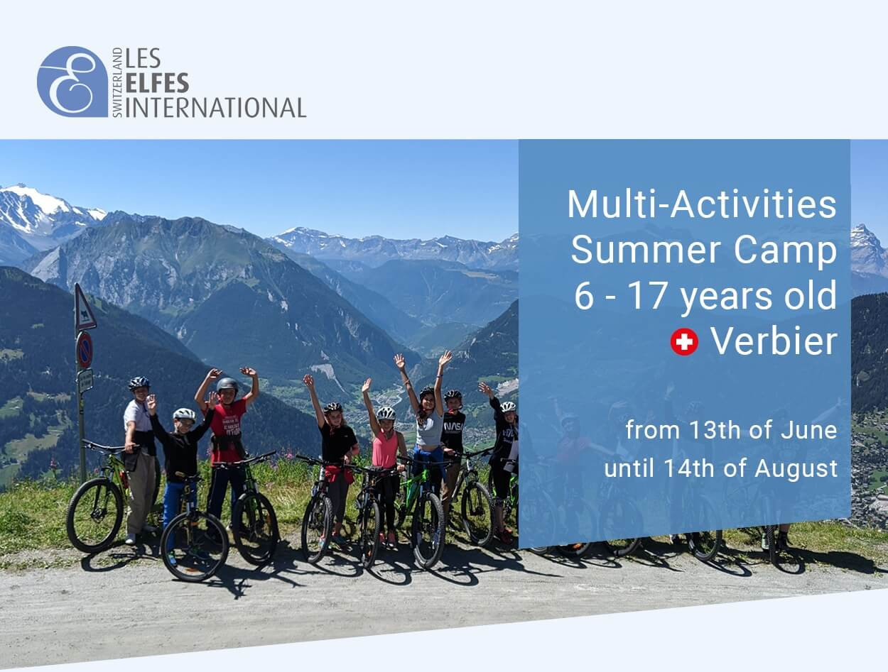 ☀️ Les Elfes Summer camp will start very soon!