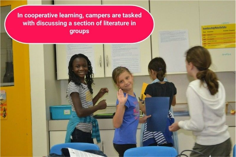 COOPERATIVE LEARNING in Summer Camp