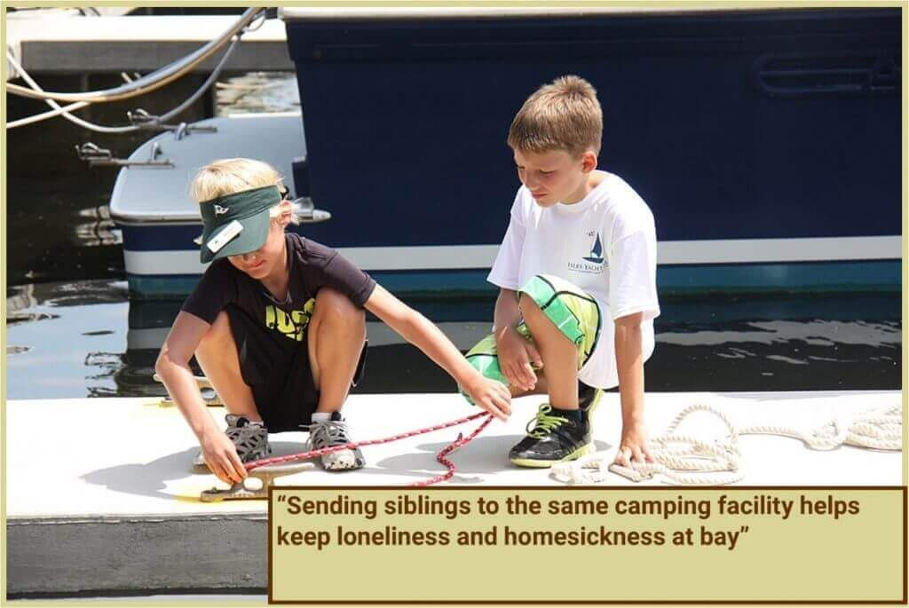SENDING SIBLINGS TO THE SAME OR DIFFERENT CAMPS: PROS AND CONS OF EITHER CHOICE