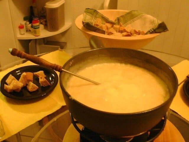 Gobble Up Cheese Fondue
