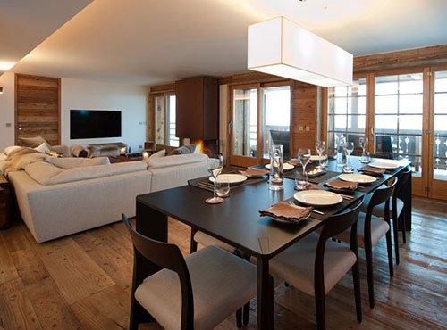La Vallée Blanche Verbier - Diningroom