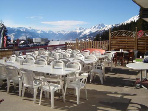 Crans-Montana terrace