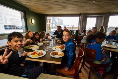 Les Elfes Crans-Montana dining room